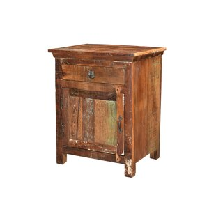 Compare & Buy Wyandotte 1 Drawer Nightstand by Bloomsbury Market