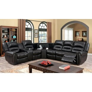 Holston Reclining Sectional Red Barrel Studio