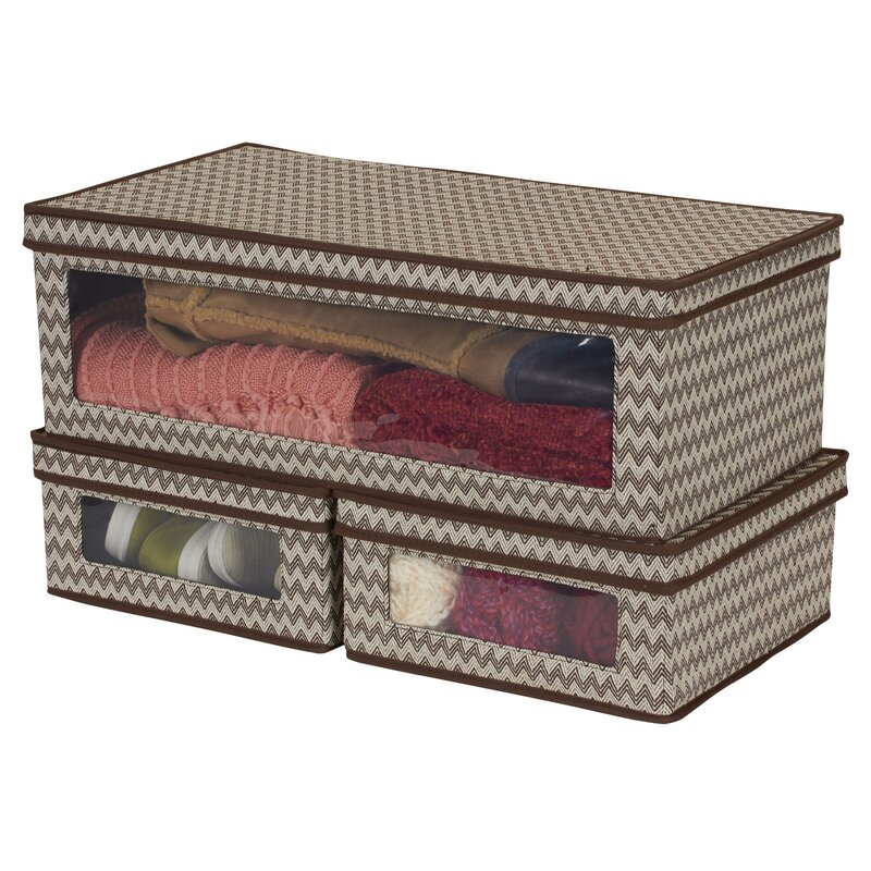 Vision 3 Piece Lidded Storage Box Set