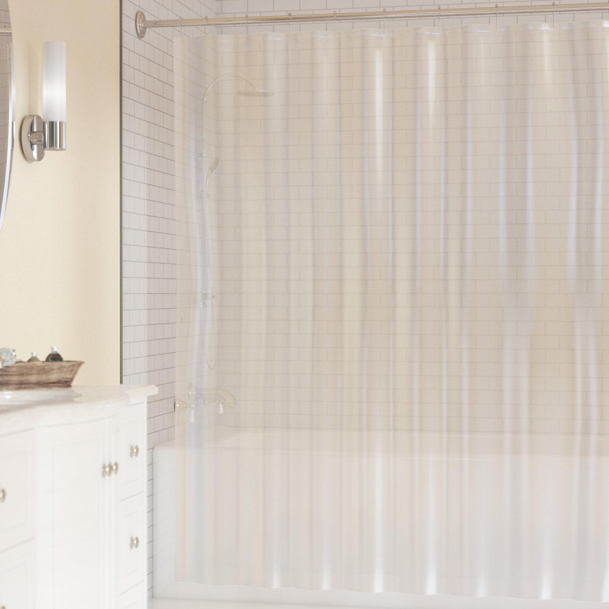Symple Stuff PEVA Shower Curtain Liner & Reviews   Wayfair