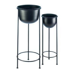 Buying Tiara Bucket 2 Piece Nesting Plant Stand Set By Ebern Designs