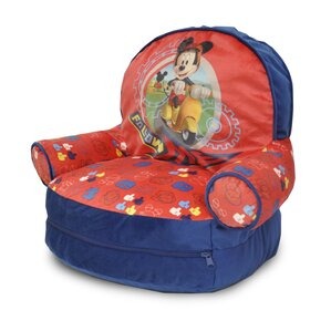 Mickey Mouse Kids Novelty Chair with Storage Compartment by Idea Nuova
