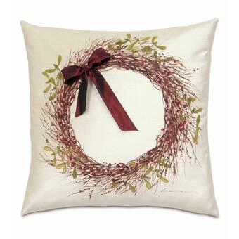 Companyc Coq A Doodle Floral Cotton Throw Pillow Perigold