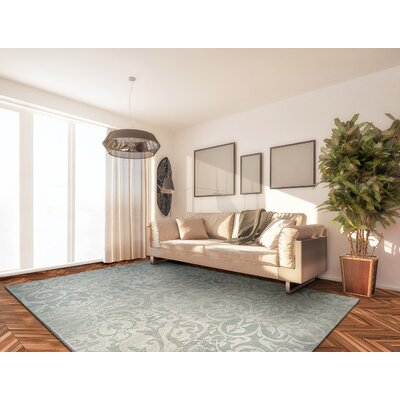 "Lark Manor Elise Pearl Area Rug Rug Size: Rectangle 5'3"" x 7'6"""