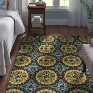Brendel Blue/Brown Indoor/Outdoor Area Rug