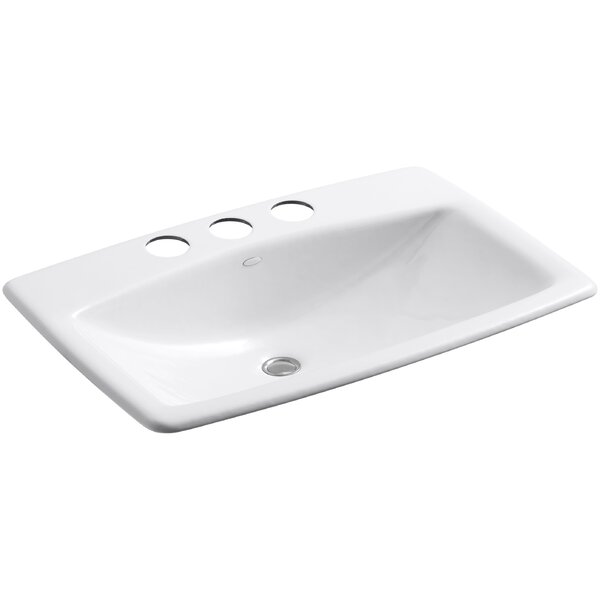 Kohler Manu0027s Lav Metal Rectangular Undermount Bathroom Sink With Overflow U0026  Reviews | Wayfair