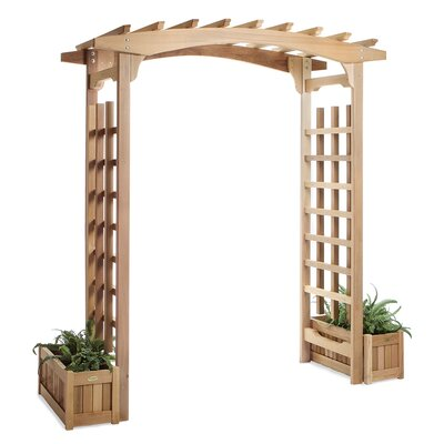 Pagoda Planter Wood Arbor All Things Cedar