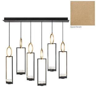Fine Art Lamps Delphi 6-Light Cluster Pendant