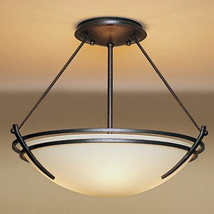 Hubbardton Forge Presidio Medium 2-Light Semi Flush Mount
