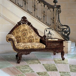 Victorian Storage Bench By Design Toscano