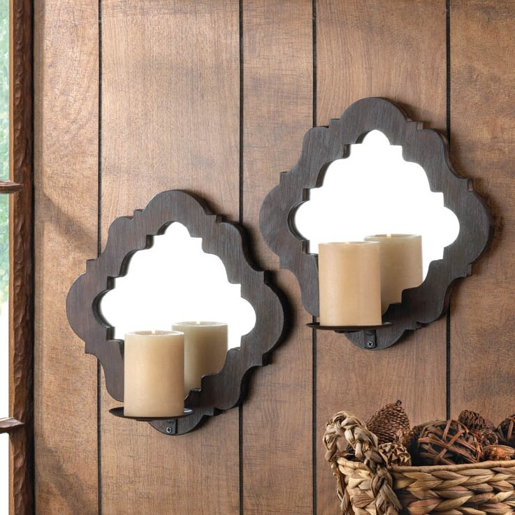 mirrored p to anisah click metal wall expand pair sconce