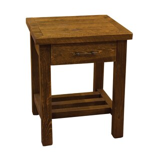 Best Reviews Dicha 1 Drawer Nightstand by Loon Peak