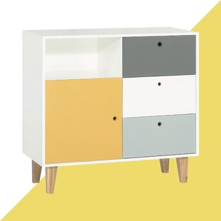 Aleana 3 Drawer Combi Chest By Hashtag Home