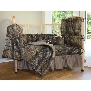 Realtree 2 Piece Crib Bedding Set
