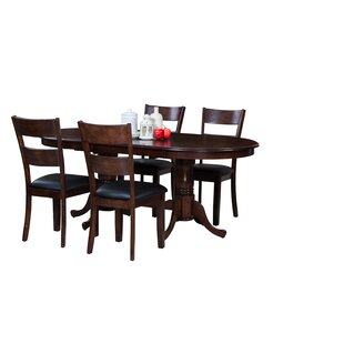 Doretha Traditional Solid Wood Dining Set