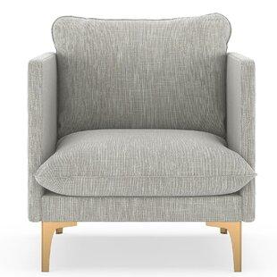 Scheller Twilled Weave Armchair by Orren Ellis