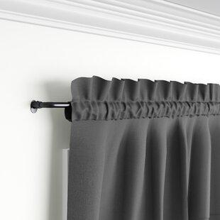 Corner Window Curtain Rod Wayfair Ca