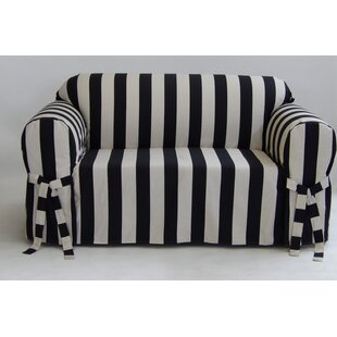 Best Price Stripe Box Cushion Slipcover by Breakwater Bay Reviews (2019) & Buyer's Guide