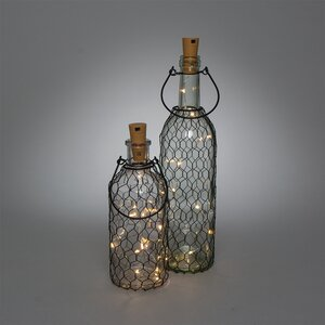 Battery Operated Lighted Decorative Bottle