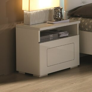 1 Drawer Bedside Table By Metro Lane