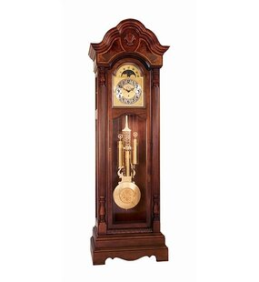 Traditional Belmont Grandfather Clock by Ridgeway Clocks