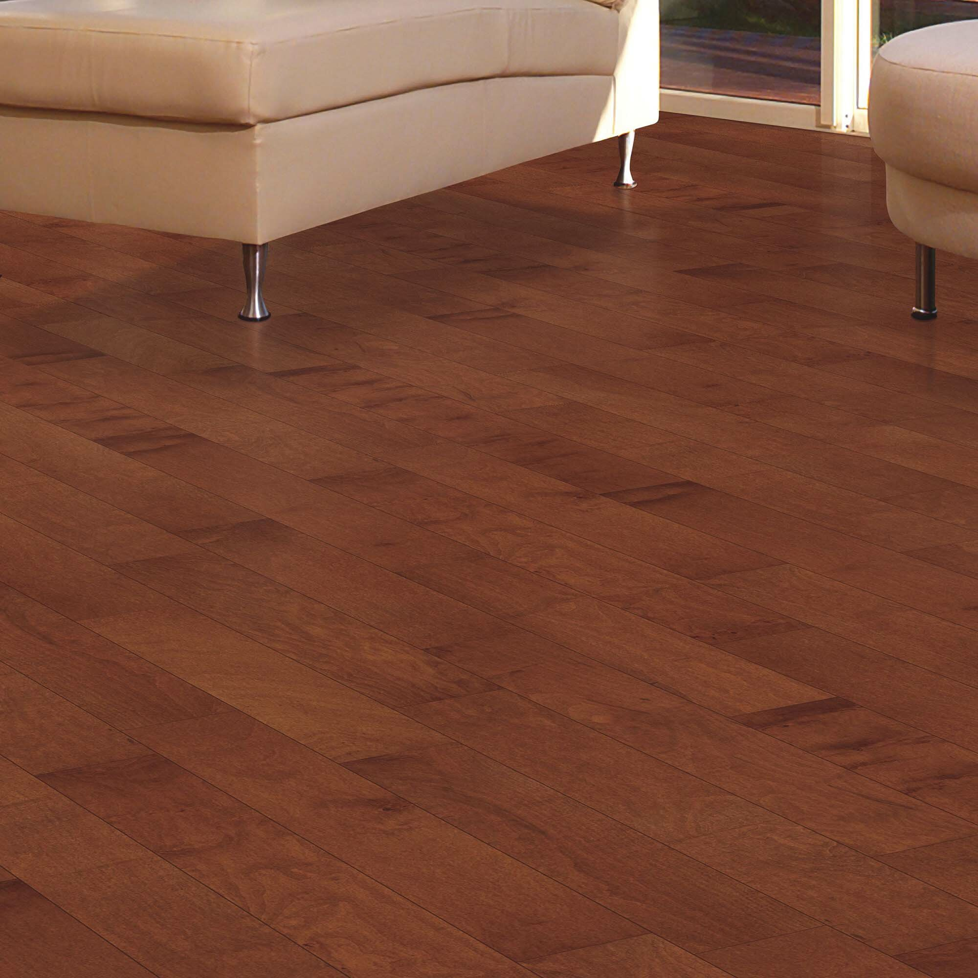 Mohawk Randhurst Maple 3 8 Thick X 5 Wide X Varying Length Engineered Hardwood Flooring Wayfair