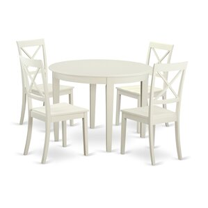 Hillhouse 5 Piece Dining Set by Red Barrel Stud..