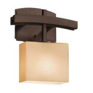 Brayden Studio Luzerne 1-Light Armed Sconce