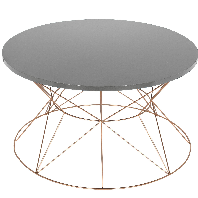 Shifflett Round Metal Coffee Table & Reviews