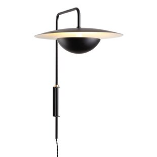 Brayden Studio Pamela 1-Light Power Source Swing Arm