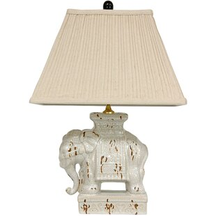 Price Check Elephant 22 Table Lamp By Oriental Furniture