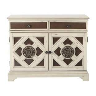Elford Storage 2 Door 2 Drawer Accent Cabinet by Bungalow Rose