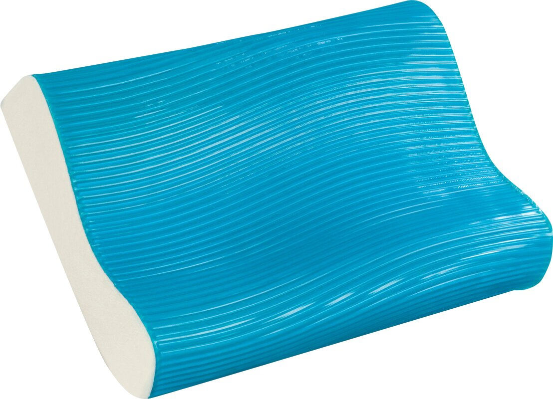 Wave Bed Memory Foam Contour Pillow