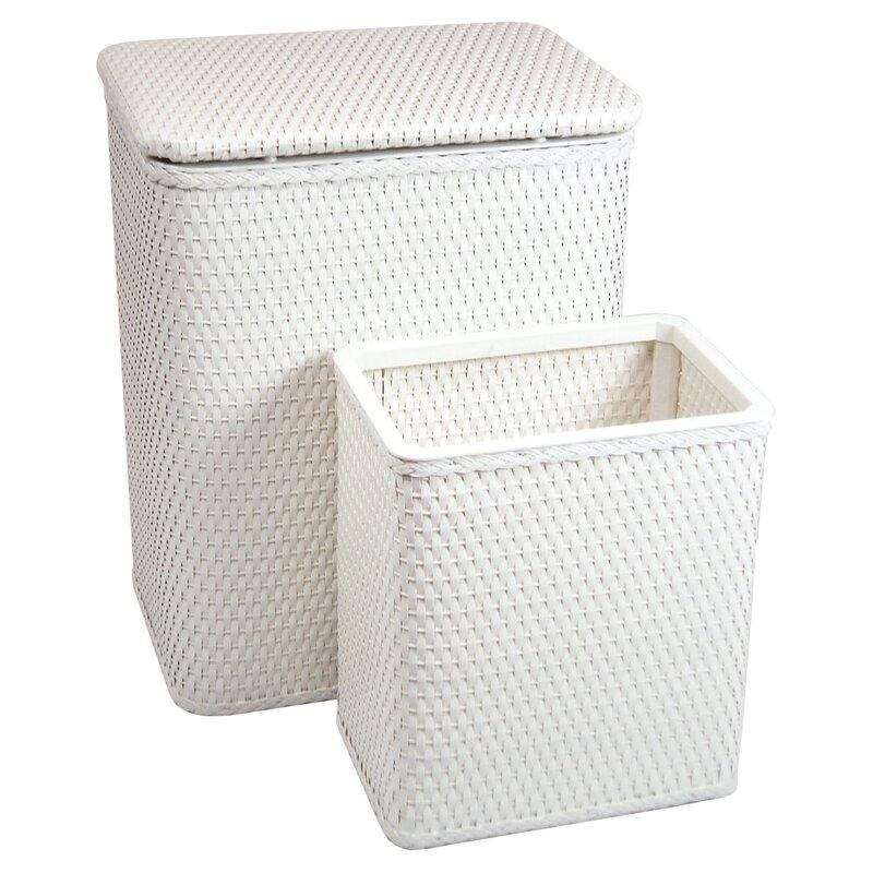 Chelsea Nursery Laundry Hamper And Waste Basket Set