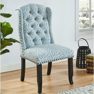 Alanis Upholstered Dining Chair (Set of 2) by Canora Grey SKU:EE485424 Order