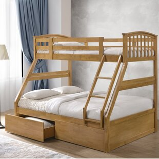 Review Ennis Single Bunk Bed With Drawers