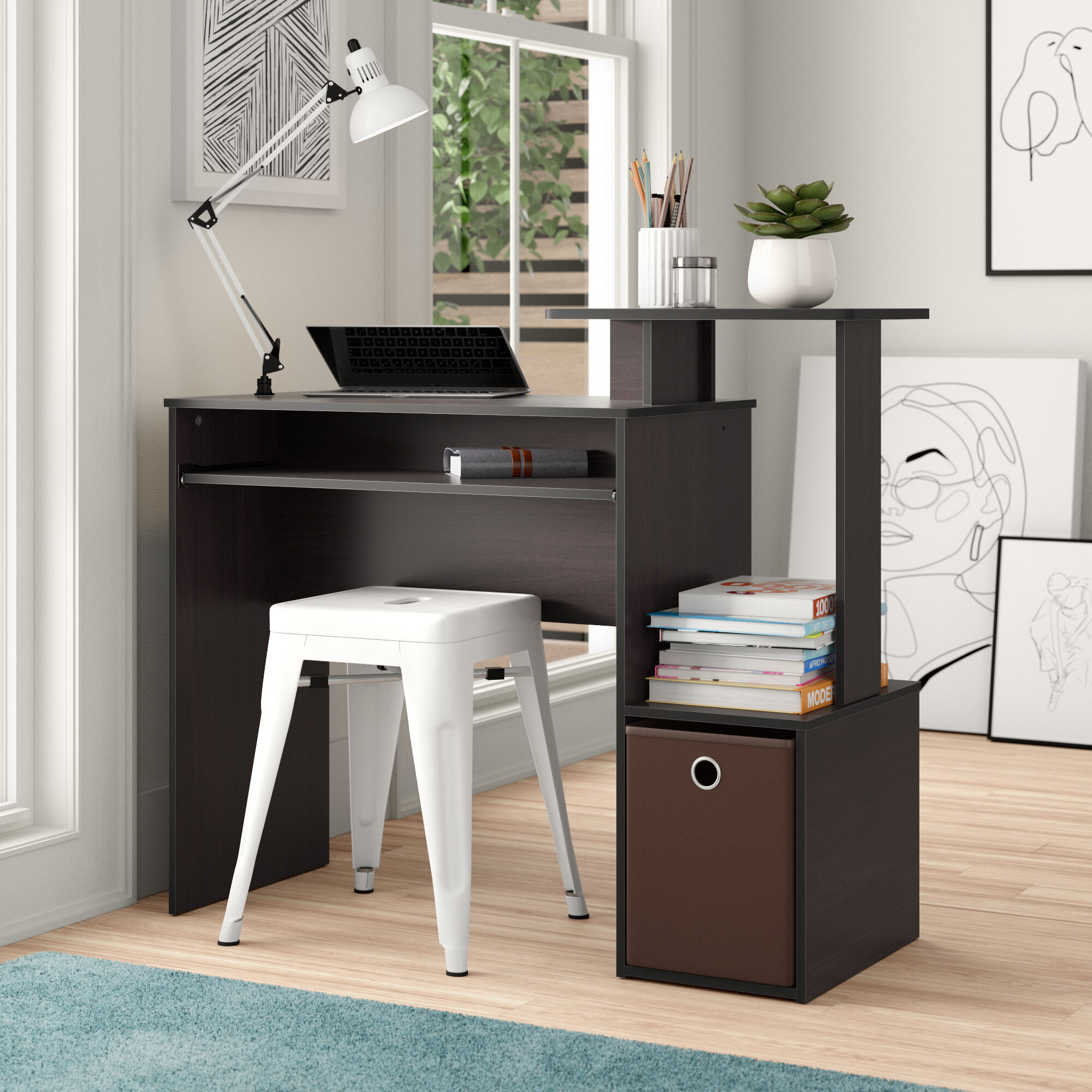 Image of: Modern Contemporary Small Desks You Ll Love In 2020 Wayfair