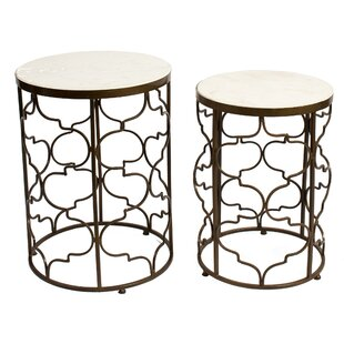 Best Keppel 2 Piece End Table Set by Mercer41