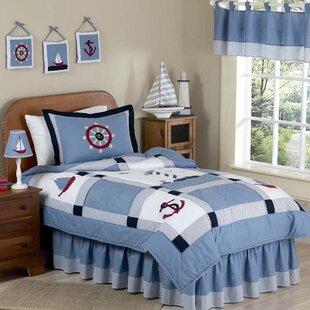 Sweet Jojo Designs Come Sail Away 3 Piece Comforter Set
