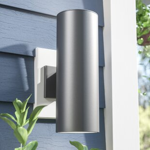 Best Reviews Gerritt 2-Light Outdoor Sconce By Orren Ellis