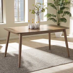 Shuffler Dining Table by Mercury Row