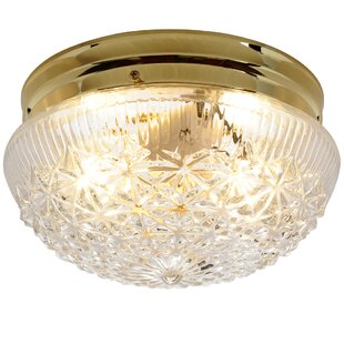 House of Hampton Anamaria 2-Light Flush Mount