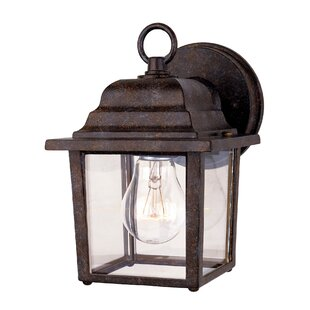Reviews Vansant 1-Light Outdoor Wall Lantern By Winston Porter