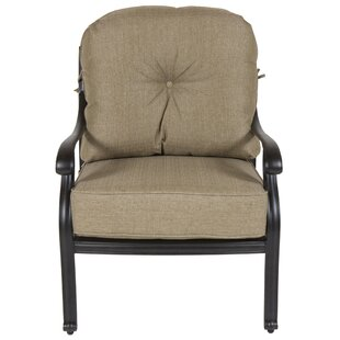 Gadson Patio Chair with Cushions (Set of 4)