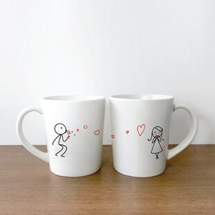 From My Heart to Yours Couple Coffee Mug (Set of 2)