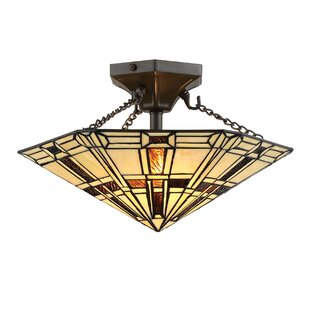 Gilreath 2-Light Semi Flush Mo..