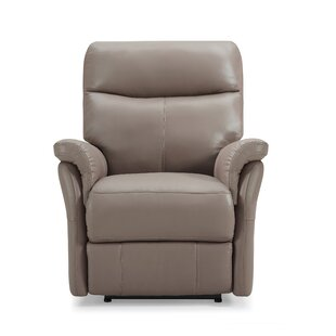 Charlene Leather Electric Recliner By Ebern Designs