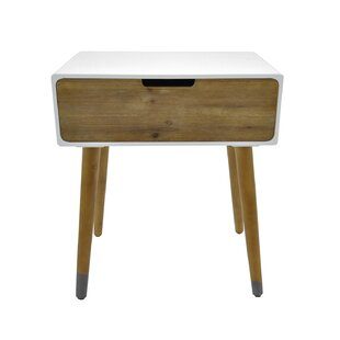 Mattern End Table with Storage by Foundry Select