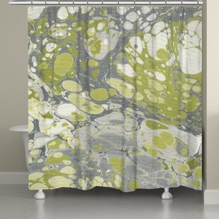 Castello Marble Single Shower Curtain