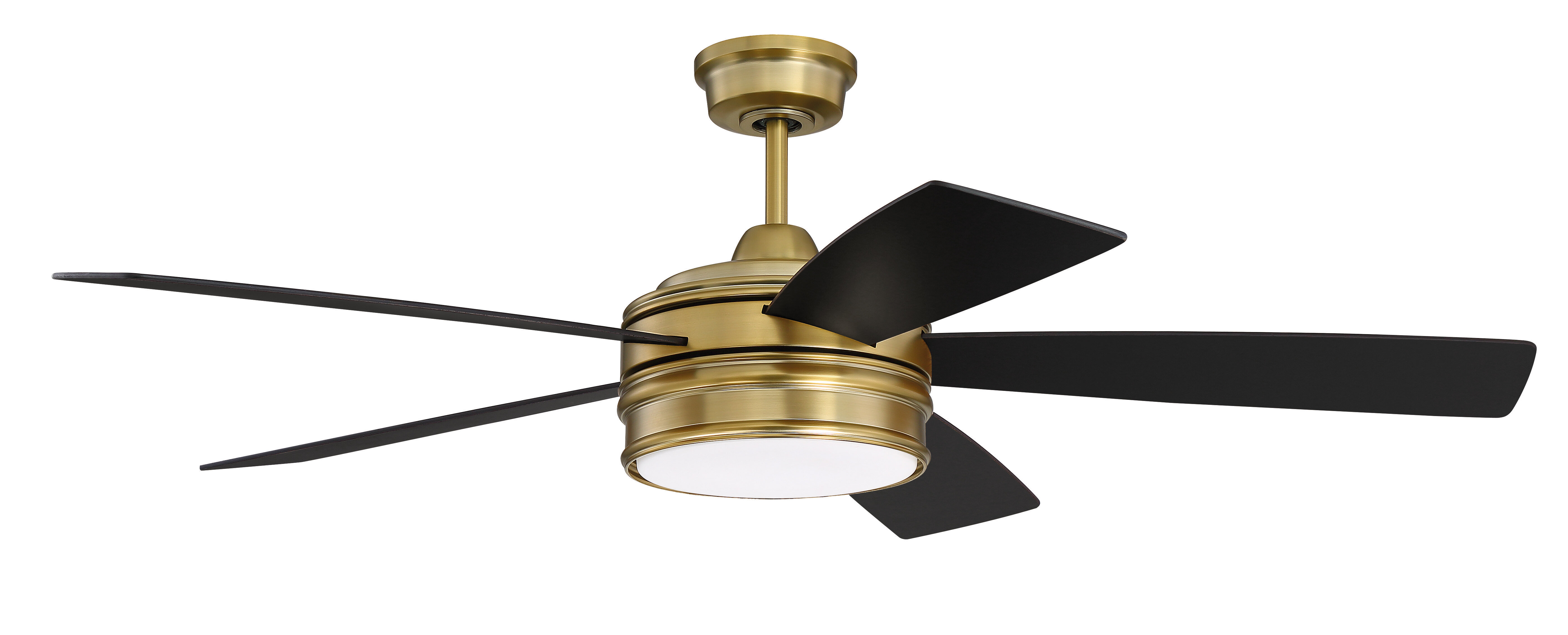 Three Posts 52 Alistair 5 Blade Led Standard Ceiling Fan With Remote Control And Light Kit Included Reviews Wayfair